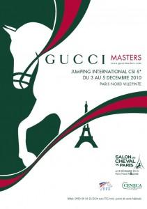 Affiche Gucci Master 2010