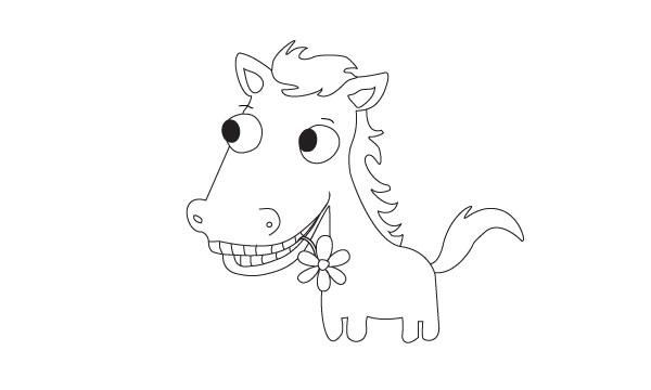 Imprimez puis coloriez votre poney dadamalin