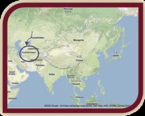 akhal-téké pays d'origine