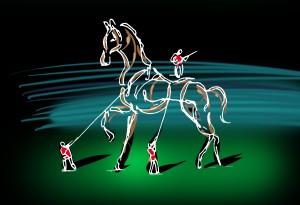 jem2014-ceremonie-ouverture-cheval-filaire